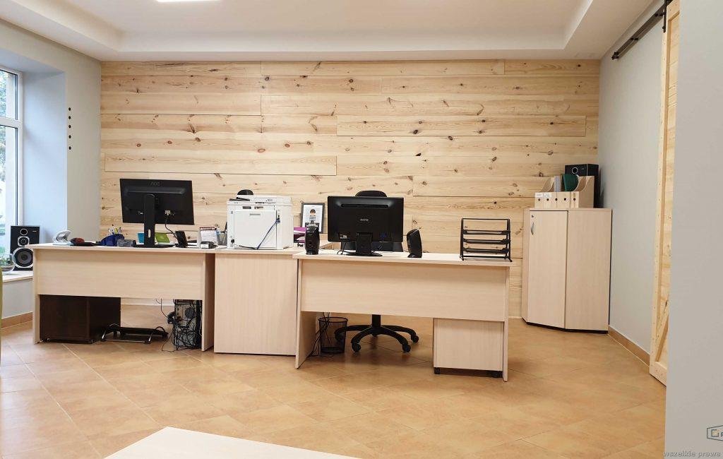 Wnętrze biura księgowego